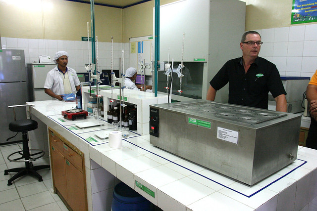 Greenfields has a small R&D lab at the dairy itself