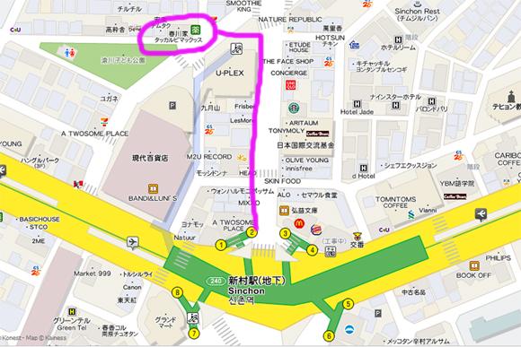 春川家辣炒雞map