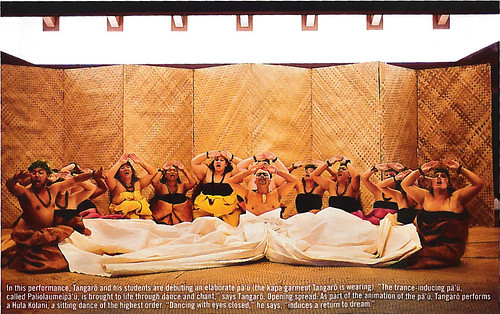 <p>Hawaiian Airlines' October/November 2012 Hana Hou magazine featuring Hawaii Community College's hula halau Unukupukupu on the cover.</p>