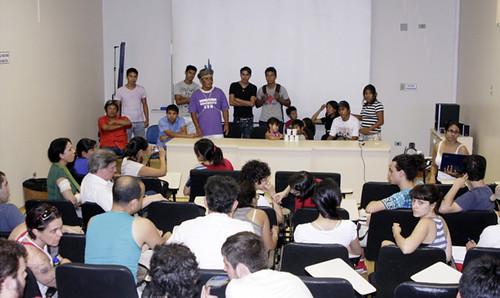 Reunião UEM indígenas