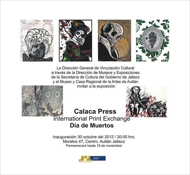 Calacas en Museo y Casa Regional de las Artes de Autlán, Jalisco, México