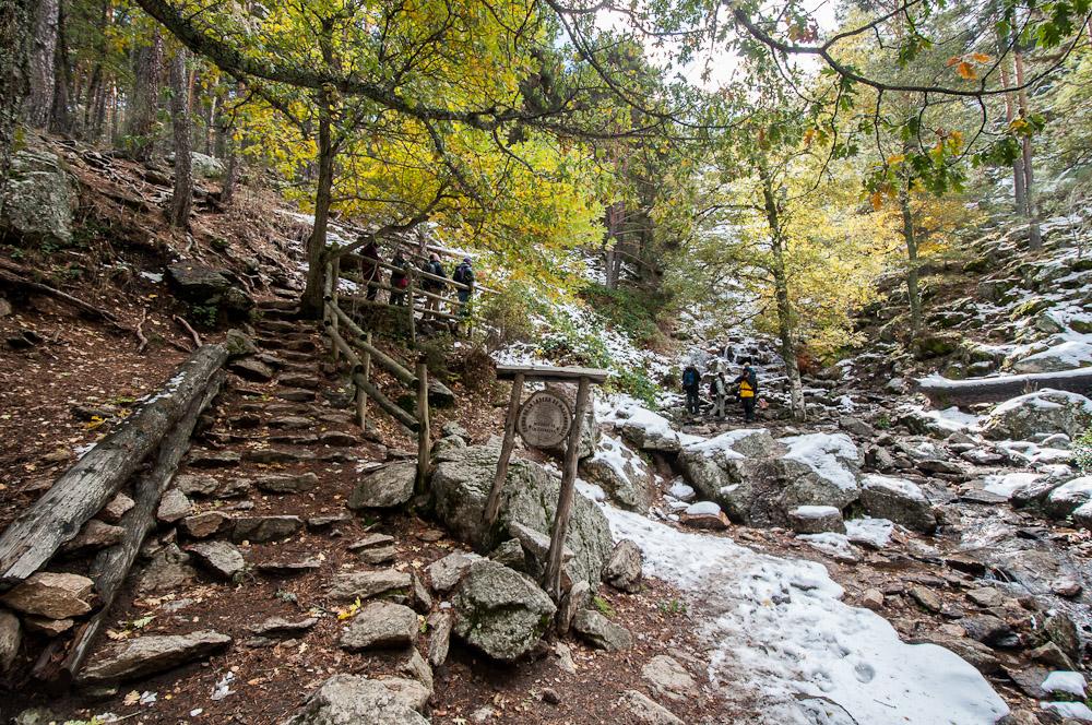 Un espectacular recorrido con bonitas imágenes del Valle del Lozoya