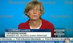 Brandeis IBS Professor Catherine Mann
