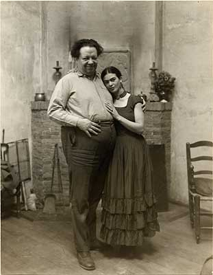 Diego Rivera y Frida
