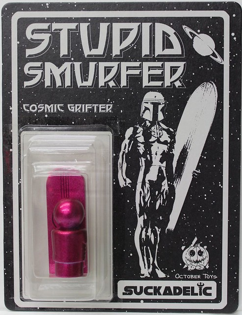 Stupid Smurfer by October Toys x Suckadelic Edition of 50 $50 each