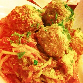Meatballs Marinara @ Charlie's Grind and Grill