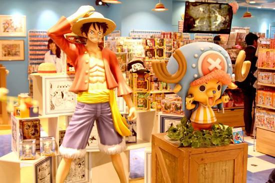 One Piece Ganha a sua Primeira Loja Oficial, Saiba Mais!