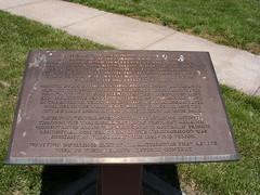Patee Park Informational Marker