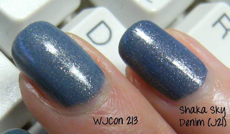Shaka Sky Denim vs WJCON 213