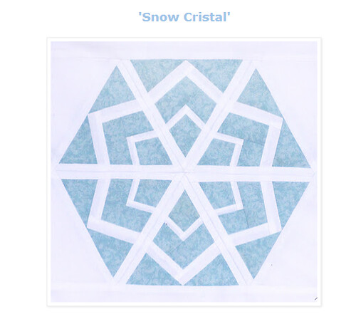 Snow Cristal block by Shape Moth