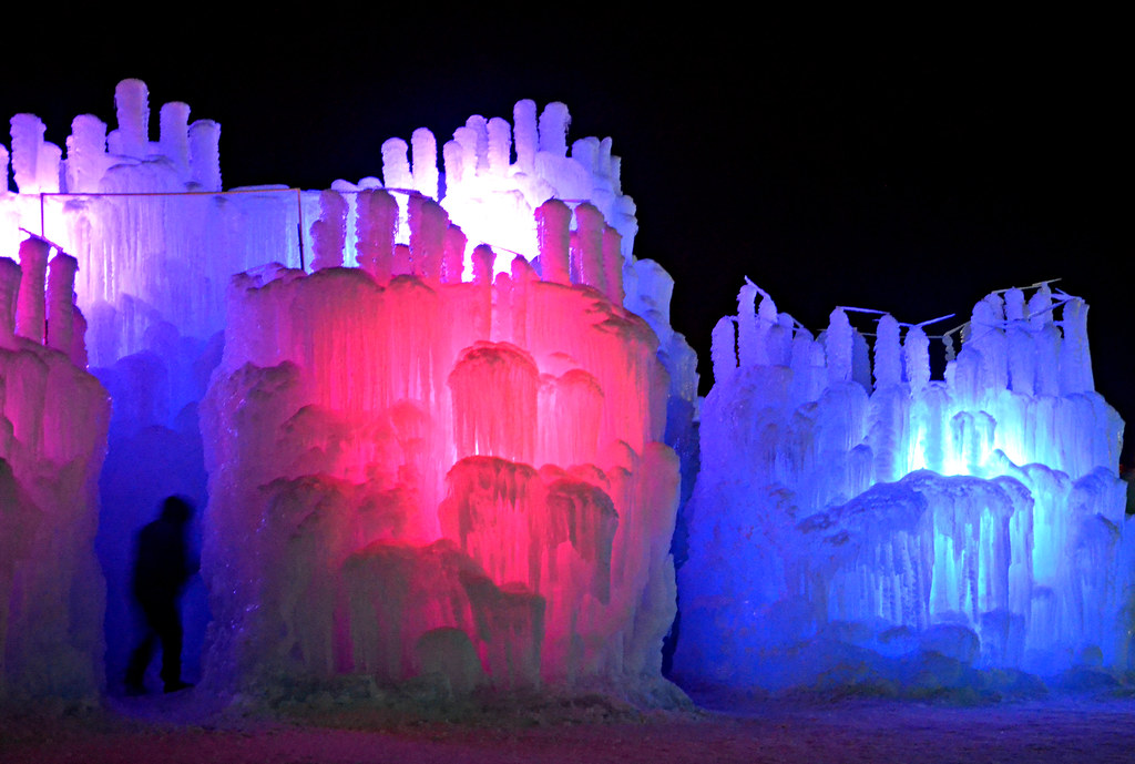 Ice Castles at Mall of America