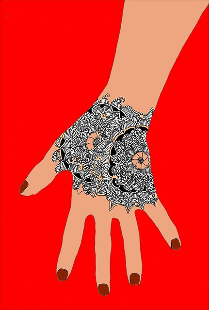 Henna Tattoo Hand Design  Flickr  Photo Sharing