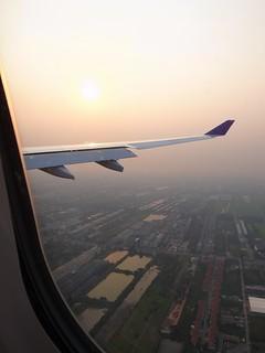 もうすぐバンコク空港