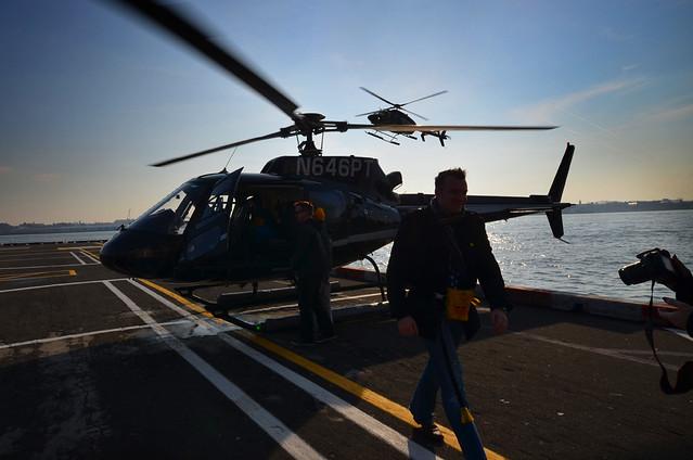 Helicopteros en Nueva York
