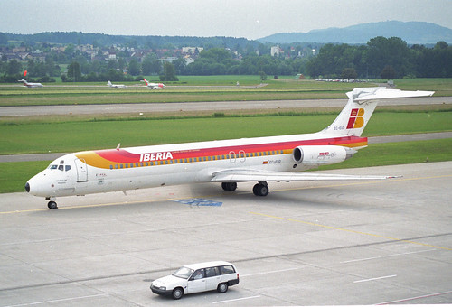 IBERIA MD-87; EC-EUD@ZRH;01.06.1997