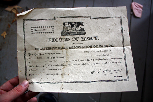 Record Of Merit - January 31, 1922