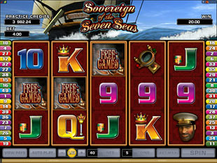 Sovereign of the Seven Seas Free Spins