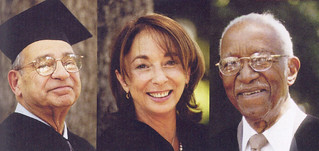 Scholar and composer Karl Kohn, film producer and author Linda Obst '72 and scholar John Franklin were honored at the 2000 Commencement ceremony at Pomona College.