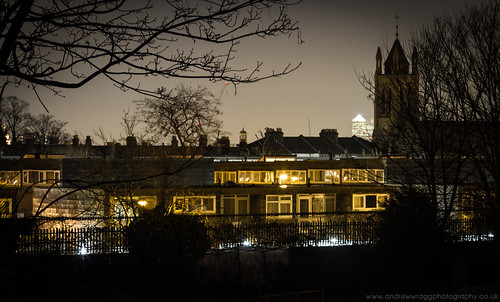 Day 15 of 365 - Brixton at night by Andrew Wragg