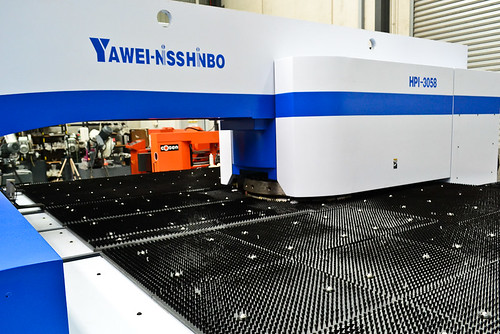 Yawei Nisshinbo HPI-3058 CNC Turret Punch Press