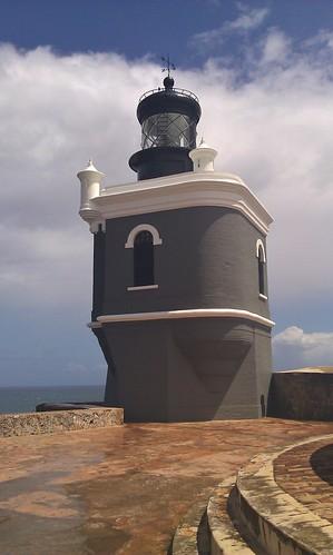 lighthouse - Castillo San Felipe del Morro in San Juan, Puerto Rico