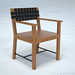 03 dining room armchair 3d render 02