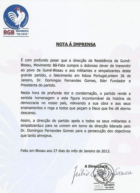 rgb condolencias