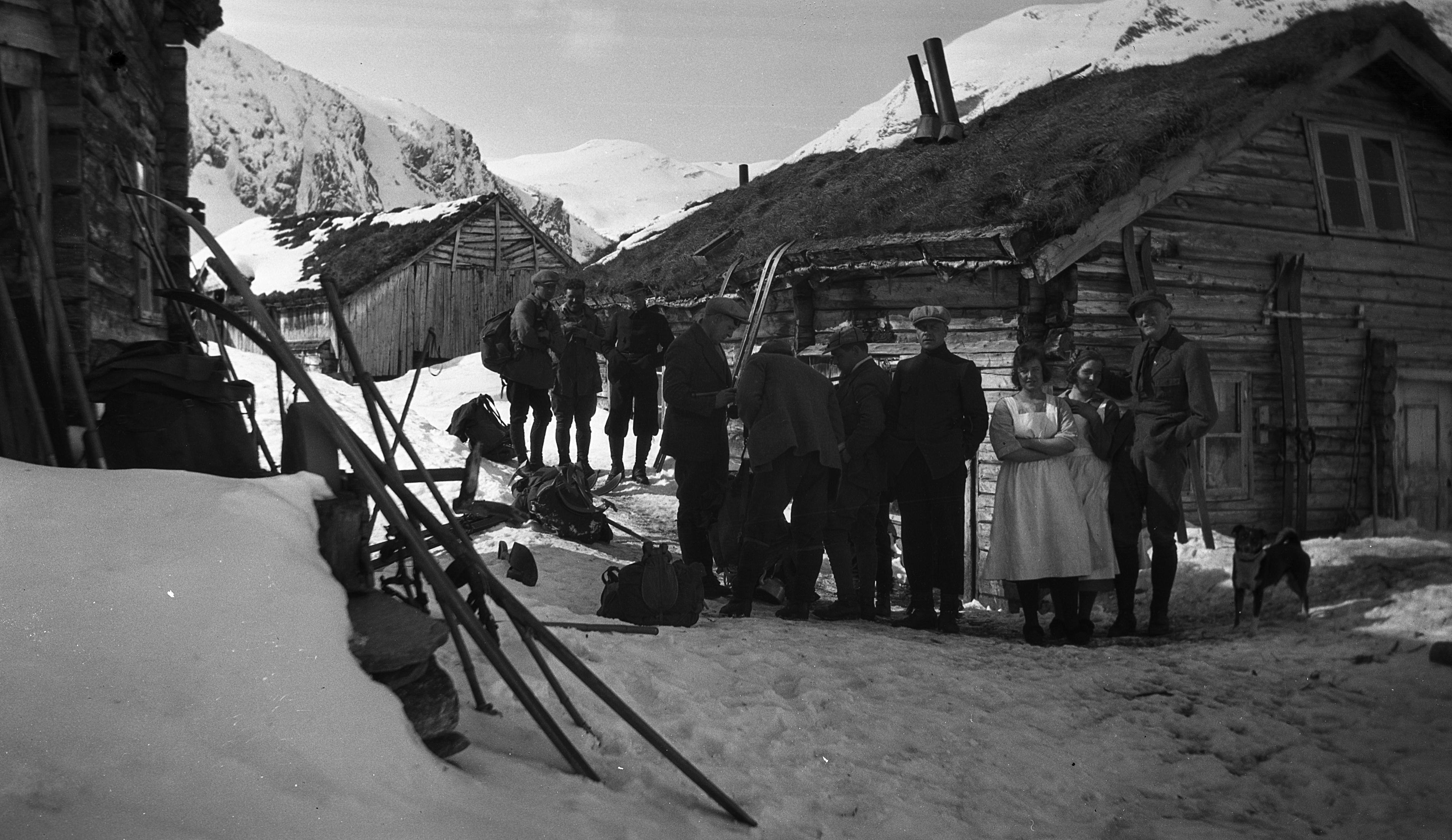 Kaldhusseter, 1924.