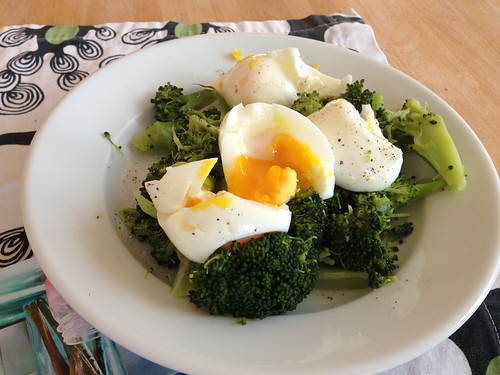 eggs with veg