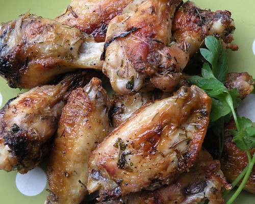 Mrs. Fields Secrets Garlic Wings