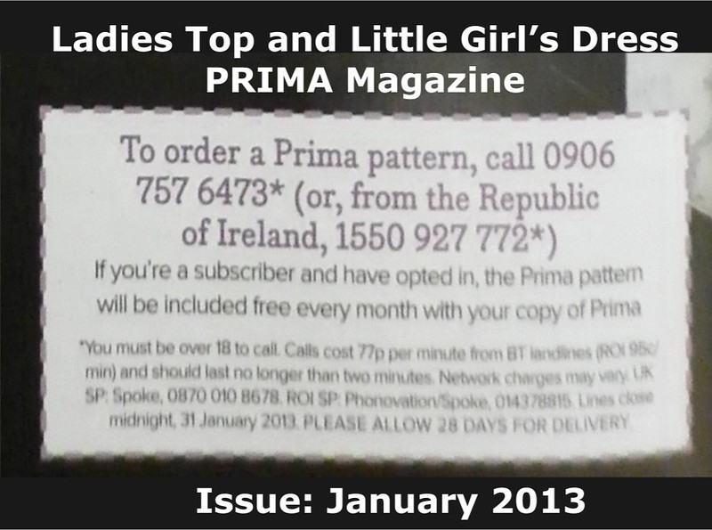 Prima Magazine - Pattern, January 2013 (03)