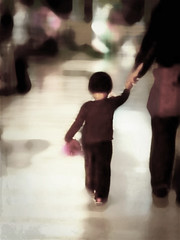 [Free Images] People, Children - Little Girls, People - Behind ID:201302061600