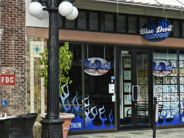 Blue devil tattoo ybor city porno woman site for Tattoo shops in ybor