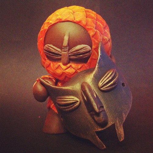 Mask of Doom and Munny done :-) @bluefrogworld by [rich]