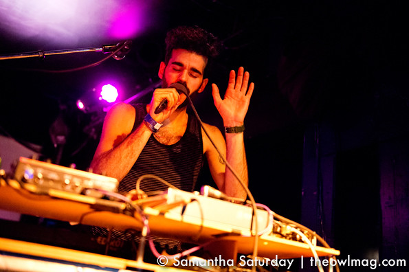 Geographer @ The Echo, LA 2/1/13