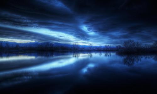 水面鏡 Nightfall