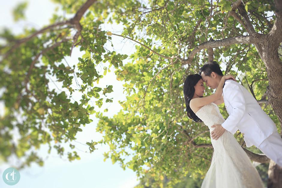 Beach Post-Wedding Pictorial, Cebu Post-Wedding Photographer