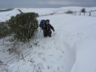 IMG_0013 Janet in deep snow