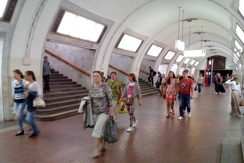 Вестибюли некоторых станций в столице России закроют навыходные из-за ремонта