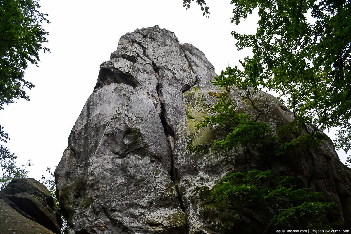 Скалы Довбуша - каменные нагромождения