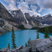 Moraine Lake by Josiane . On&Off