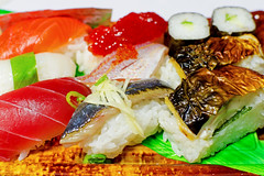 Sushi Platter by Autumn Fish : 秋の寿司盛り�…