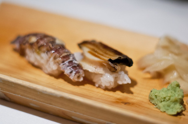 Ushiwakamaru - Abalone and Mantis Shrimp