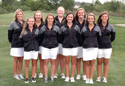 Girls' varsity golf team