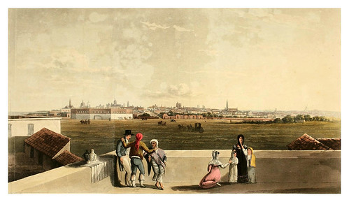 001-Vista general de Buenos Aires desde la Plaza de toros-Picturesque illustrations of Buenos Ayres and Monte Video..-1820- Emeric Essex Vidal