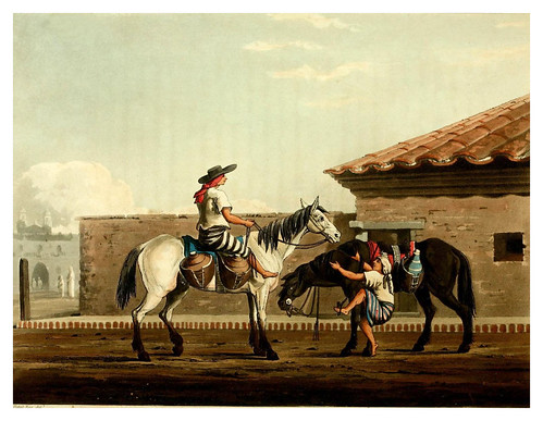 009-Los chicos de la leche-Picturesque illustrations of Buenos Ayres and Monte Video..-1820- Emeric Essex Vidal
