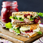Grilled Turkey & Brie Cranwich