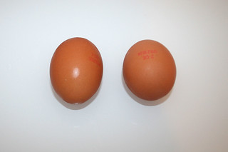 10 - Zutat Eier / Ingredient eggs