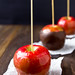 Port Wine Caramel Apples