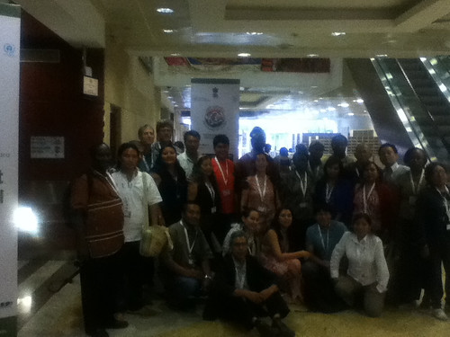 The social web workshop winds up among friends at #Cop11